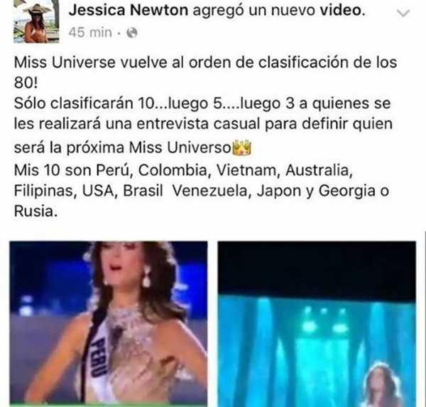 Hoa hậu Hoàn vũ Peru 1987 đưa đại diện Việt Nam vào danh sách yêu thích của cô