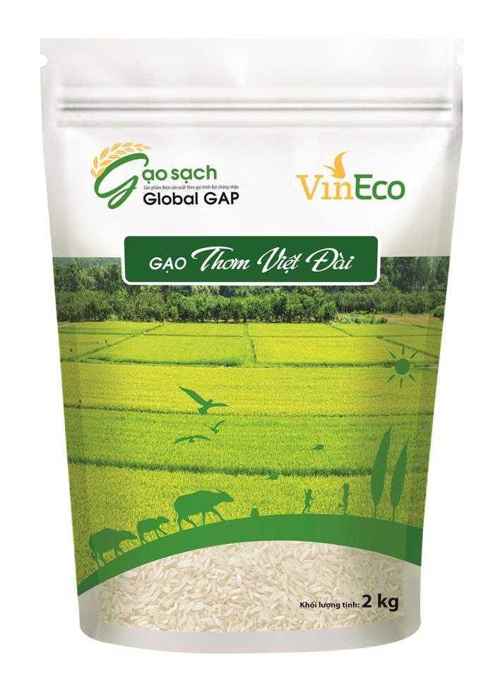 Gạo thơm Việt Đài 2kg