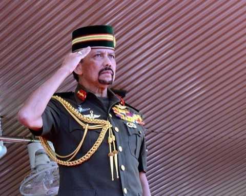 Quốc vương Brunei Sultan Hassanal Bolkiah (Ảnh: Yahoo News)