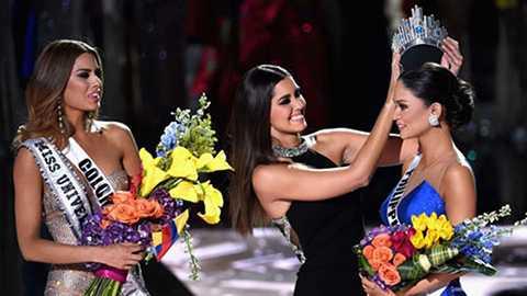 Đây được xem là sự cố hi hữu đình đám nhất trong lịch sử cuộc thi Miss Universe.