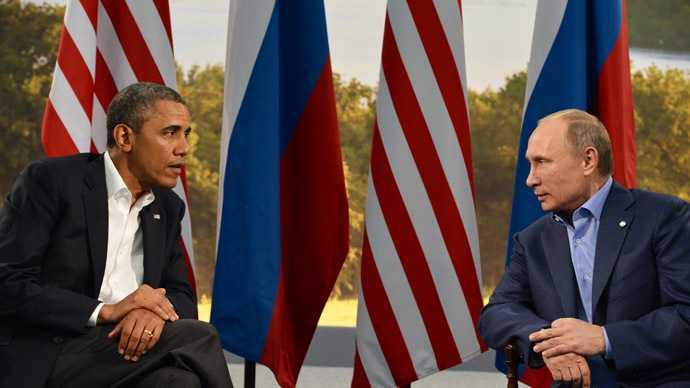 Tổng thống Mỹ Obama và người đồng cấp Nga Putin