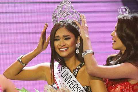 Tuy chỉ cao 1m73, nhưng Pia Wurtzbach là một người đầy tham vọng và luôn nỗ lực không ngừng nghỉ. Cô từng tham dự cuộc thi Hoa hậu Binibining Pilipinas 2013, nhưng chỉ qua được vòng đầu. Năm 2014, cô tiếp tục tham gia Hoa hậu Hoàn vũ Philippines 2014 và lần này cô đã lọt vào top 15.