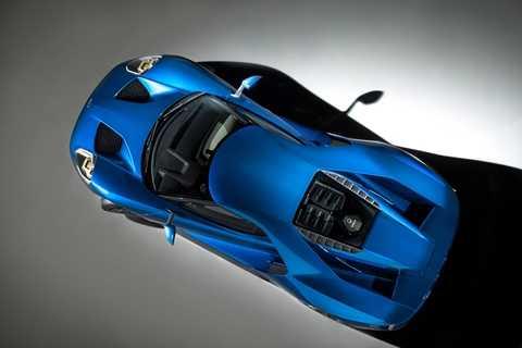 Kính Gorilla Glass được sử dụng làm kính chắn gió và nắp che động cơ Ford GT