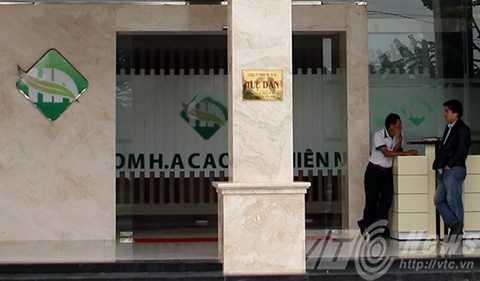 Showroom H.A Cao su thiên nhiên thuộc Công ty TNHH TM&DL Tuệ Dân bị xử phạt 15 triệu đồng