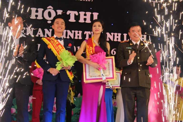 Cặp đôi Nguyễn Thành Tuân và Trương Thị Tuệ Nhi đã xuất sắc giành ngôi vị cao nhất cuộc thi