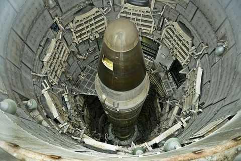 Tên lửa mang đầu đạn hạt nhân Titan II của Mỹ