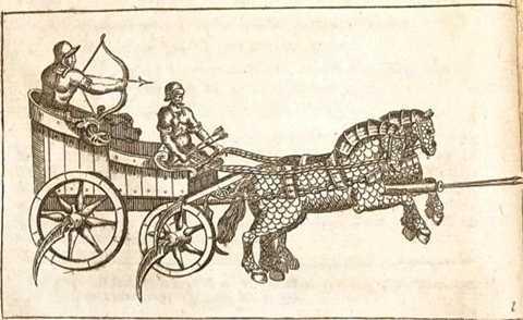 Những cỗ xe ngựa chiến là niềm tự hào của quân đội các quốc gia