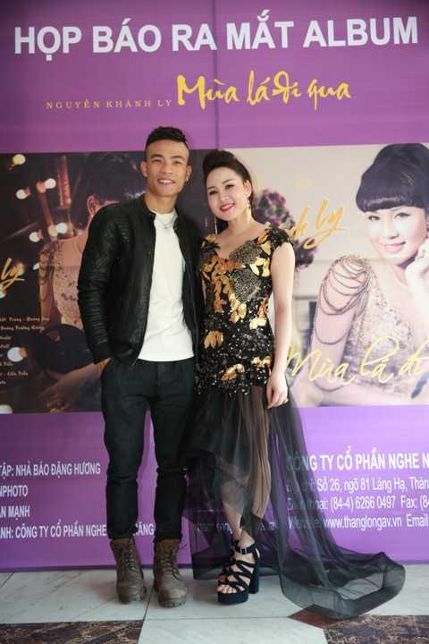 Khánh Ly cùng nhạc sỹ Dương Trường Giang