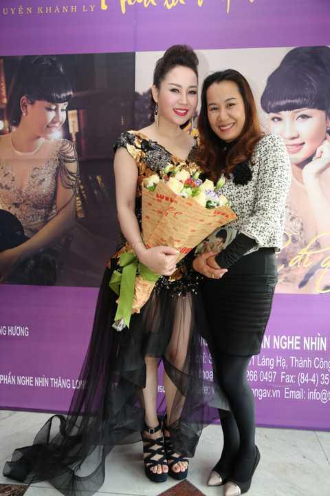 Nhạc sỹ Giáng Son chúc mừng Khánh Ly ra mắt album mới
