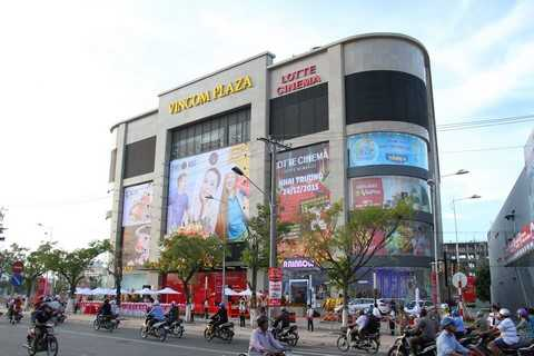 Vincom Plaza Long Xuyên nằm ở vị trí trung tâm thành phố