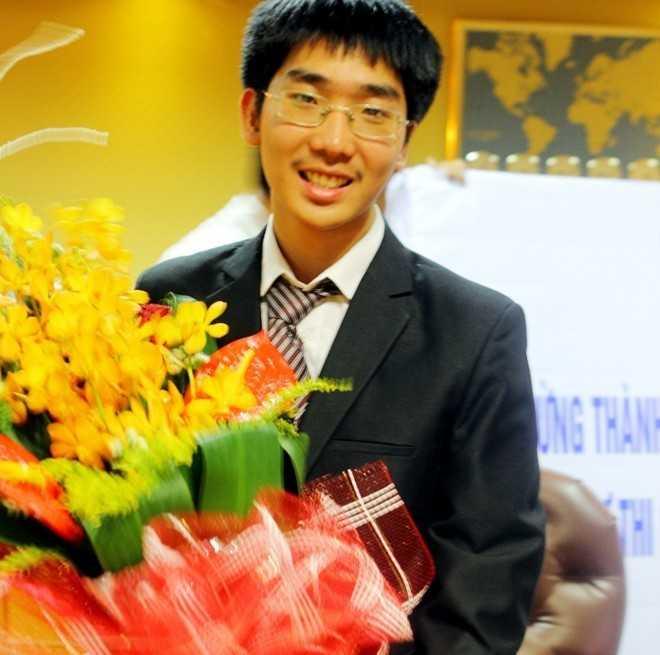 Vũ Thanh Trung Nam - chàng trai sinh năm 1997 được cho là người giành nhiều huy chương nhất tại các kỳ thi Olympic quốc tế