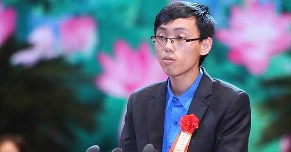 Nguyễn Thế Hoàn đã 2 năm liền đoạt Huy chương Vàng Olympic Toán quốc tế
