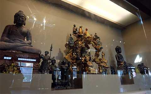 Nơi trưng bày các cổ vật