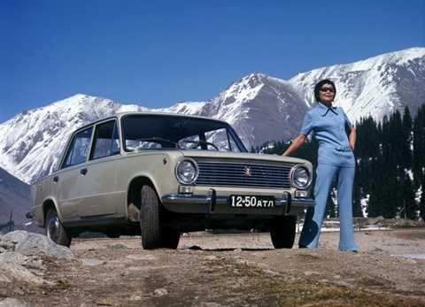 Ảnh quảng cáo các mẫu Lada đăng trên các tạp chí Liên Xô thập niên 70-80