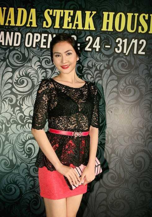 Hoa hậu Điện ảnh Mai Mai.