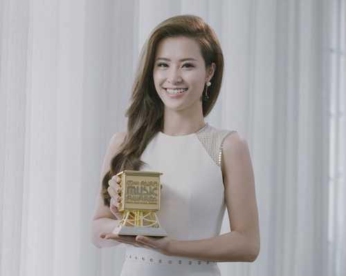 Đông Nhi nhận giải MAMA 2015.