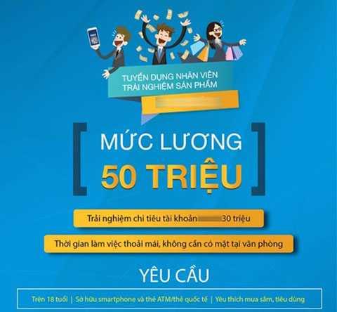 Thông báo tuyển dụng trả lương 50 triệu đồng gây xôn xao của doanh nghiệp Việt.
