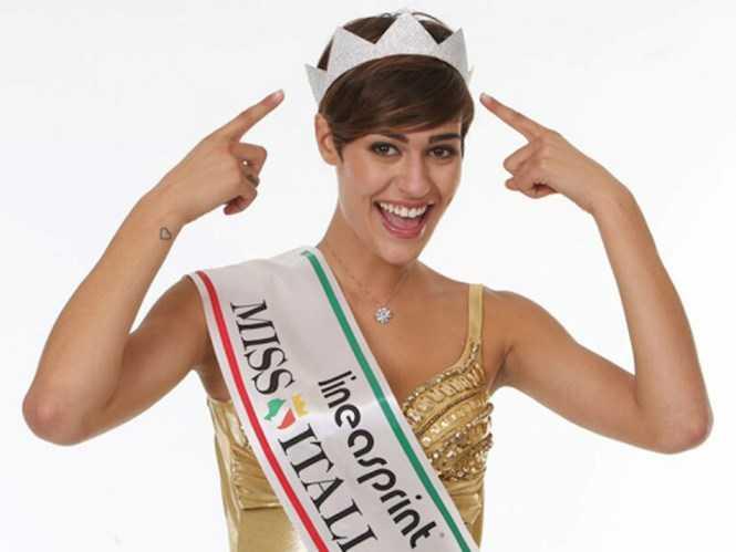 Hoa hậu Ý Alice Sabatini