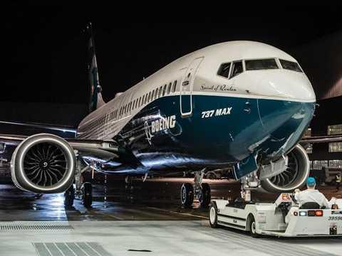 Chiếc Boeing 737 Max 8 mới được ra mắt