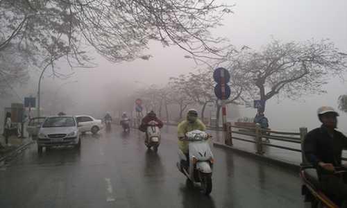 Không khí lạnh gây mưa rét tại Bắc Bộ (Ảnh minh hoạ)