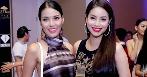 Lan Khuê và Phạm Hương từng bị lôi vào cuộc chiến trên truyền thông.