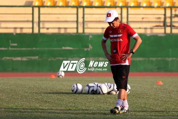 Kỉ luật như quân đội, còn học trò nào của Miura chơi bóng bằng cả đam mê? (ảnh: H.T)