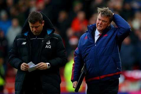 Van Gaal rầu rĩ vì trận thua của MU
