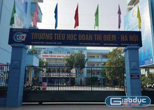 Hệ thống giáo dục của Trường Đoàn thị Điểm có 5 cơ sở. Tại Hà Nội có 4 cơ sở, và Quảng Ninh có 1 cơ sở. Ảnh: Phan Thiên