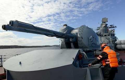 Vũ khí của lực lượng chống khủng bố trên biển