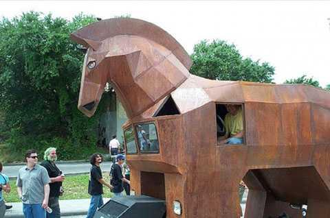 Xe ngựa Thành Troy