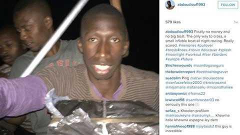 Các bức ảnh 'tự sướng' của Abdou Diouf