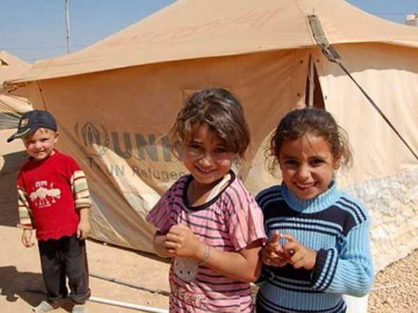 Trẻ tị nạn Syria - Ảnh minh họa