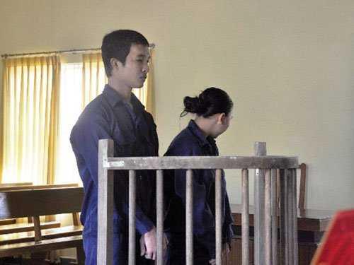 Hào Anh và đồng phạm tại tòa án ngày 23/10