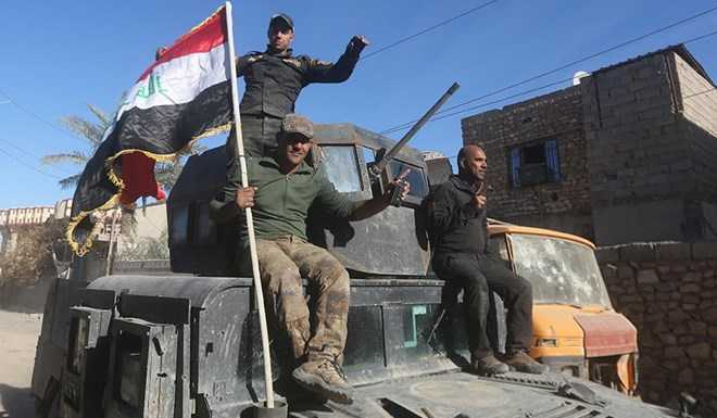 Quân đội Iraq tiến vào huyện al-Tareem của Ramadi