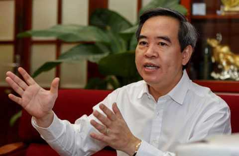 Thống đốc Nguyễn Văn Bình - Ảnh: Việt Dũng