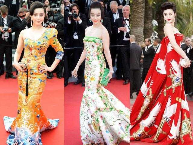 Những trang phục ghi dấu ấn tên tuổi Phạm Băng Băng tại thảm đỏ quốc tế.