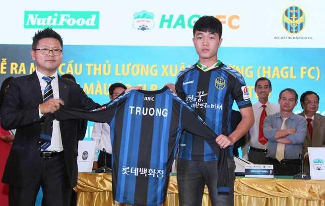 Xuân Trường trở thành cầu thủ Đông Nam Á đầu tiên sang Incheon