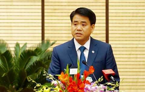 Chủ tịch UBND TP Hà Nội Nguyễn Đức Chung đề xuất hạn chế phương tiện cá nhân để giảm ùn tắc giao thông