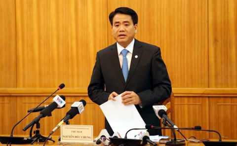 Thiếu tướng Nguyễn Đức Chung được bầu làm Chủ tịch UBND TP Hà Nội.