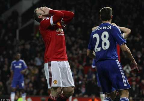 Rooney tiếc nuối khi bỏ lỡ cơ hội phút cuối