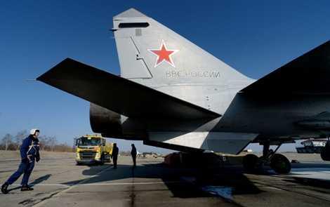 MiG-31BM là phiên bản nâng cấp từ MiG-31B, được sử dụng trong quân đội Nga từ những năm 1990