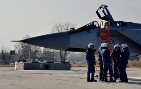 Những chiếc MiG-31BM đầu tiên được giao đến căn cứ không quân gần Vladivostok