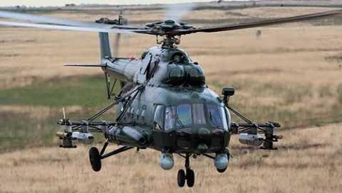 Trực thăng Mi-8AMTSh