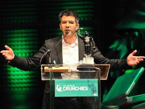 Travis Kalanick rất thành công với dịch vụ Uber
