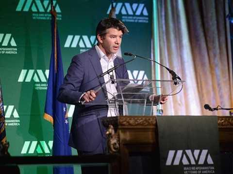 Travis Kalanick tại Hội thảo công nghệ LeWeb