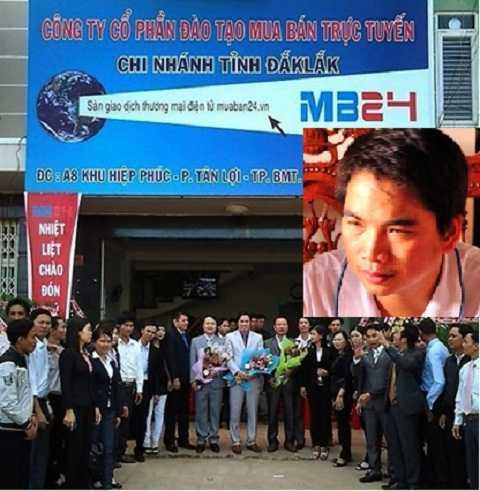 Công ty MB24 tại Đắk Lắk và đối tượng cầm đầu