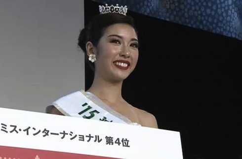 Thuý Vân giành ngôi Á hậu 3 Hoa hậu Quốc tế 2015.