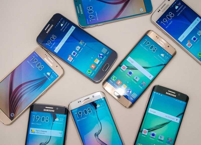 Những mẫu máy cao cấp đầu 2015 như Galaxy S6 hiện được nhiều cửa hàng bán với giá bằng một nửa sau với ban đầu. Ảnh: Android Central.