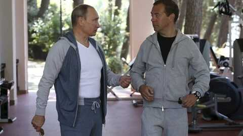 Cặp đôi quyền lực của nước Nga hơn một thập kỷ qua - VladimirPutin vàDmitry Medvedev