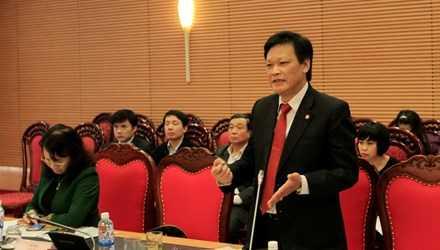 Thứ trưởng Bộ Nội vụ Nguyễn Duy Thăng. Ảnh: Trường Phong